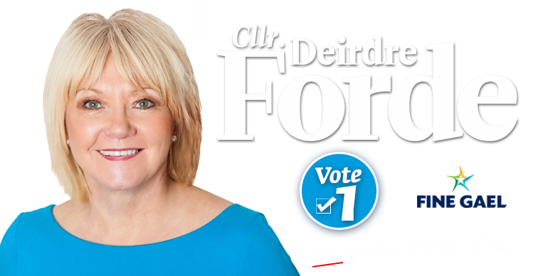 Why you should vote for Deirdre Forde in the upcoming Local Elections